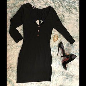 Mini Bebe black dress.